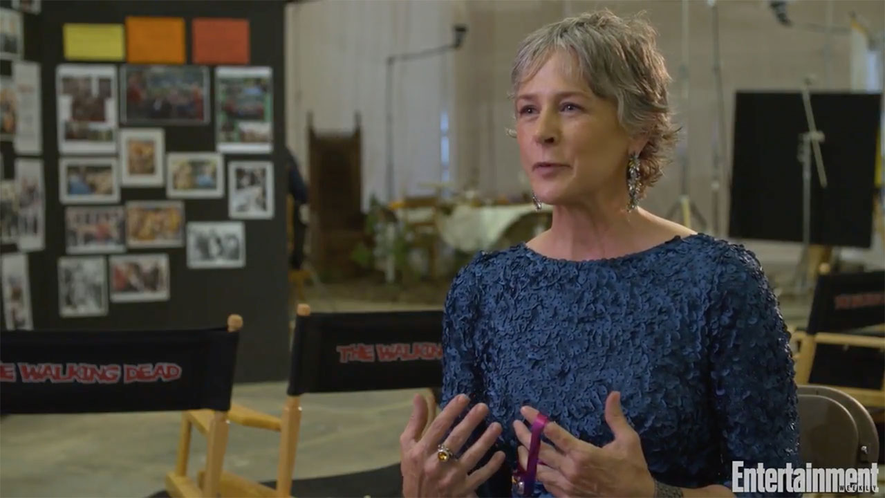 Melissa McBride Was Thrust Into The World On First Day Filming
